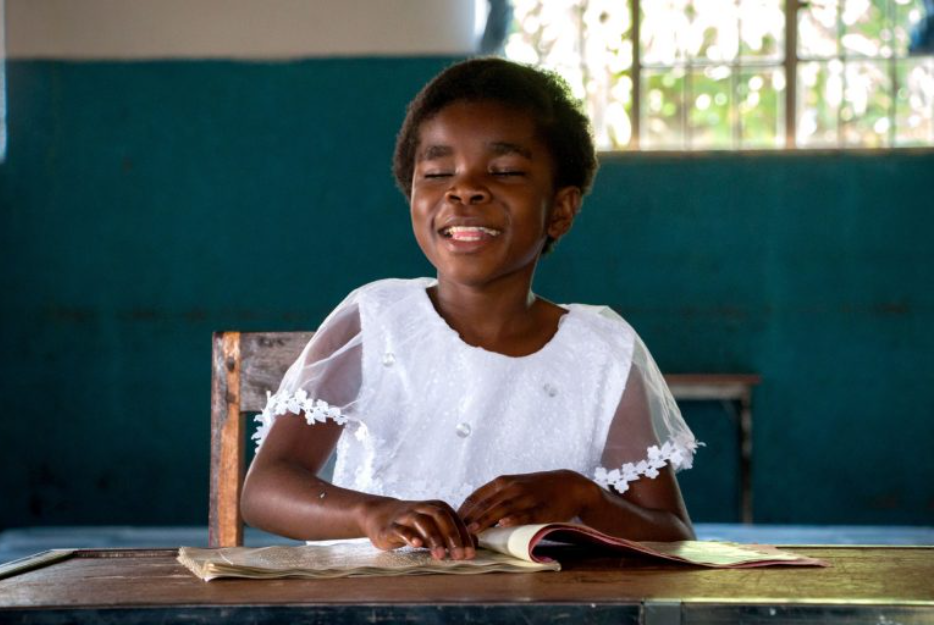 The star from last week's Lenten Mission video reflection, Blessings was enrolled for sponsorship when her loving father asked the Sisters at our Kawambwa site to help her access and education and a better way of life than he could provide. She was soon chosen by a Chalice sponsor, and was able to attend a specialized boarding school for blind children!Full story: https://www.chalice.ca/blog/2021/03/24/blessings-blossoms-with-love-care-and-sponsorship/