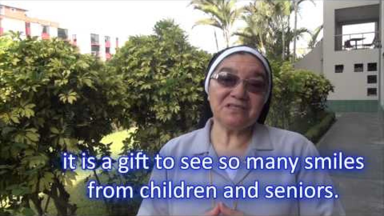 Easter Message from Sister Ursulina Benitez (Dominica)